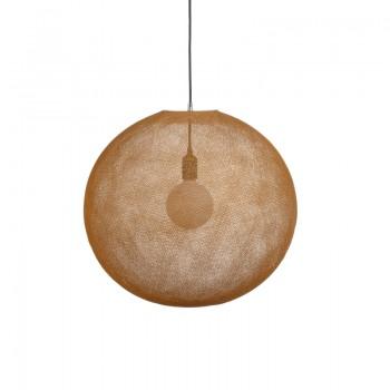 Globe Light XL Tabac Ø 50cm - Abat-jour globe light - La Case de Cousin Paul