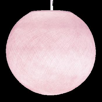 Globe rose poudré - Abat-jour globe - La Case de Cousin Paul