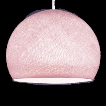 Coupole rose poudré - Abat-jour coupole - La Case de Cousin Paul