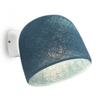 Muur licht wit eendenblauw - Wandlamp - La Case de Cousin Paul