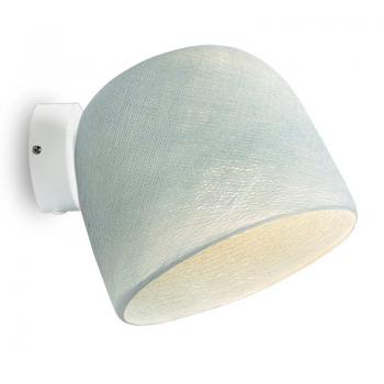 Muur licht wit azuurblauw - Wandlamp - La Case de Cousin Paul