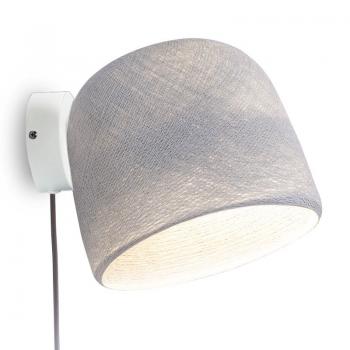 Mobiel muur licht wit parelgrijs - Wandlamp - La Case de Cousin Paul