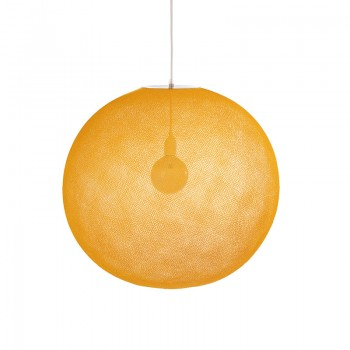 Globus Light XXL Curry Ø 67cm - Lampenschirm Globus Light - La Case de Cousin Paul
