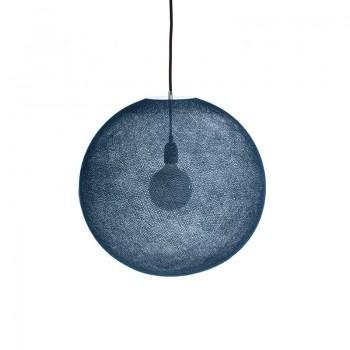 Globe Light XL Bleu pétrole Ø 50cm - Abat-jour globe light - La Case de Cousin Paul