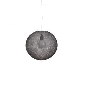 Globus Light Anthrazitgrau Ø 36cm - Lampenschirm Globus Light - La Case de Cousin Paul