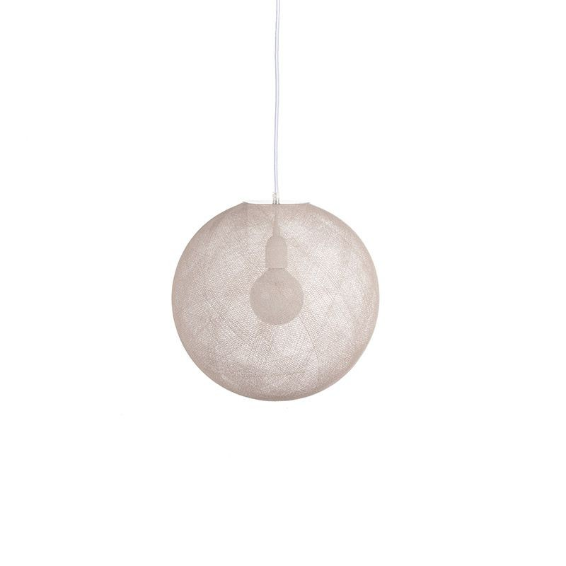 Ballampen Light Ecru Ø 36cm - Lampenkappen Los ballampen light - La Case de Cousin Paul