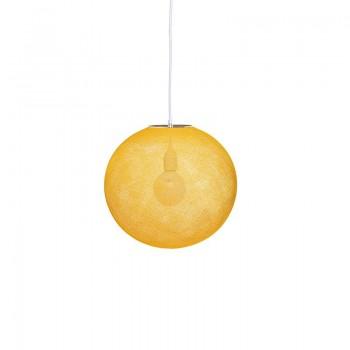 Globus Light Curry Ø 36cm - Lampenschirm Globus Light - La Case de Cousin Paul