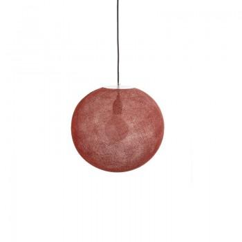 Globe Light Terracotta Ø 36cm - Abat-jour globe light - La Case de Cousin Paul