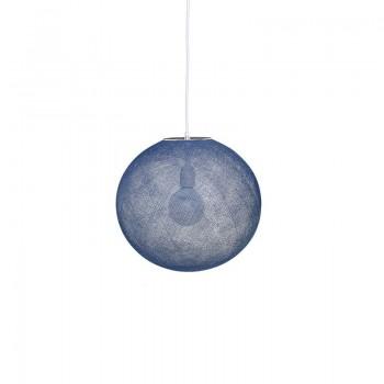 Globus Light Indigo Ø 36cm - Lampenschirm Globus Light - La Case de Cousin Paul