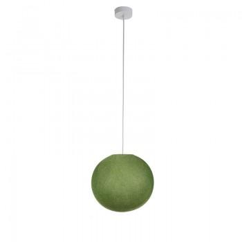 Enkelvoudig ophangsysteem ballamp S olijfgroen - Opgehangen - La Case de Cousin Paul