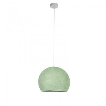 Einfache Aufhängung Kuppel lindgrün - Hängelampe einstrahlig - La Case de Cousin Paul