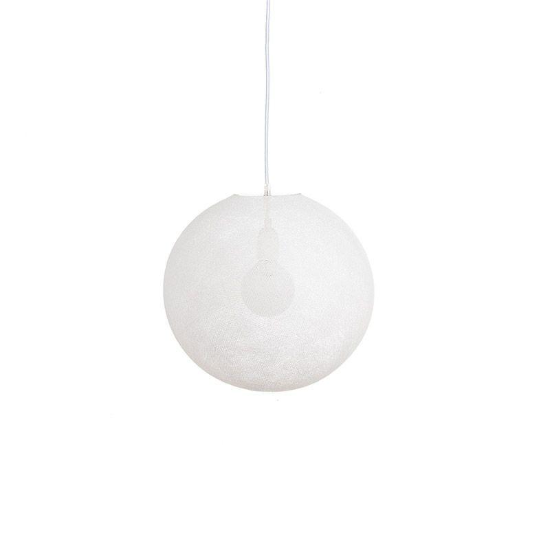 Globe Light Blanc Ø 36cm - Abat-jour globe light - La Case de Cousin Paul