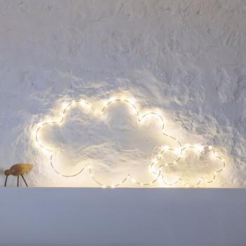 Led-Lichterkette Wolke - Décoration lumineuse - La Case de Cousin Paul