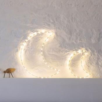 Led-Lichterkette Halbmond - Décoration lumineuse - La Case de Cousin Paul