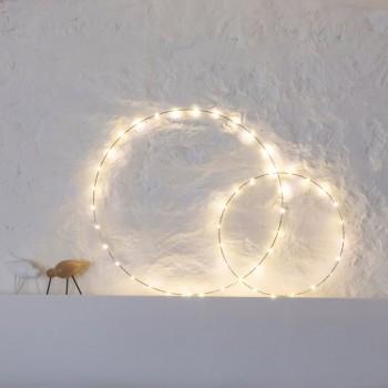 Decoración de luz circular - Décoration lumineuse - La Case de Cousin Paul