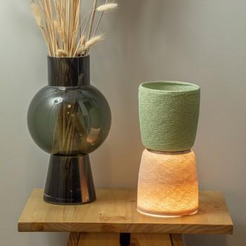 Lampe BAoBA - Kalk - Lamp Baoba - La Case de Cousin Paul