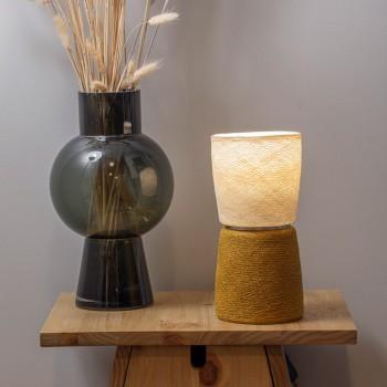 Lampe BAoBA - Tabac - Lampe Baoba - La Case de Cousin Paul