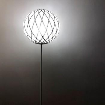 """Lámpara de pie """"Art Deco"""" En blanco y negro - Lámpara de pie - La Case de Cousin Paul"""
