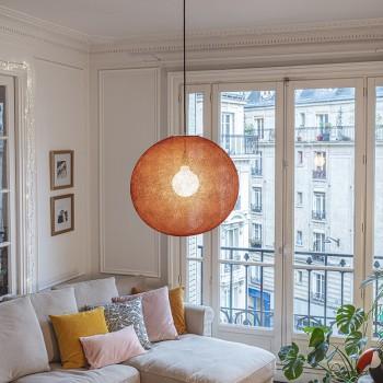 Globus Light XL Terracotta Ø 50cm - Lampenschirm Globus Light - La Case de Cousin Paul