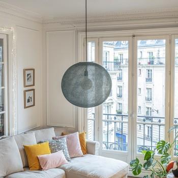 Globe Light XL Vert impérial Ø 50cm - Abat-jour globe light - La Case de Cousin Paul