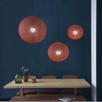 Sfere Light XXL Terracotta Ø 67cm - Coprilampada sfere light - La Case de Cousin Paul