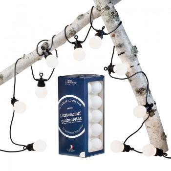 VerläNgerung Guinguette Neige - Lichterketten Box Guinguette - La Case de Cousin Paul