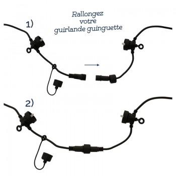Extension Guinguette Transparent - Coffrets Guinguette - La Case de Cousin Paul