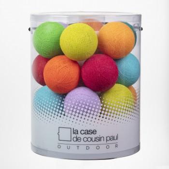 Roudoudou - Guirlande 24 boules In et Outdoor - Guirlande lumineuse In & Outdoor - La Case de Cousin Paul