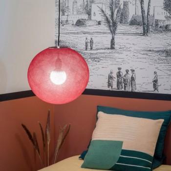 Globe Light Rubis Ø 36cm - Abat-jour globe light - La Case de Cousin Paul