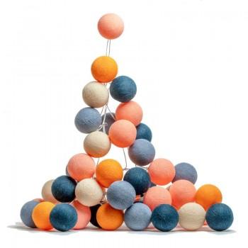 Napoli 50 bolas - Las guirnaldas luminosas l'Original - La Case de Cousin Paul