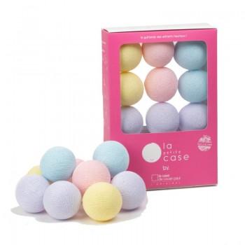 Coffret 9 boules à piles Célestine - Coffrets Guirlande veilleuse bébé - La Case de Cousin Paul