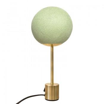 Lampe APAPA messing - Kalk - Lamp Apapa - La Case de Cousin Paul