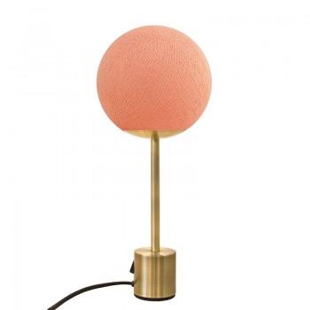 Lampe APAPA laiton - Blush - Lampe Apapa - La Case de Cousin Paul