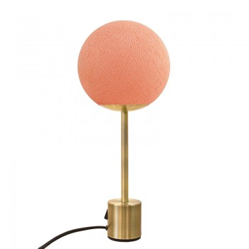 Lampe APAPA ottone - Arrossire - Lampada Apapa - La Case de Cousin Paul
