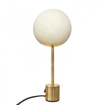 Lampe APAPA messing - Ivoor - Lamp Apapa - La Case de Cousin Paul
