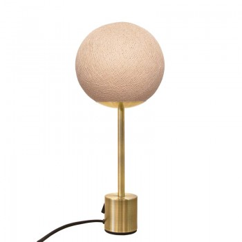 Lampe APAPA laiton- Sahara - Lampe Apapa - La Case de Cousin Paul