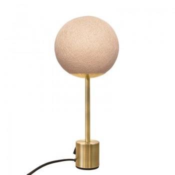 Lampe APAPA ottone - Sahara - Lampada Apapa - La Case de Cousin Paul