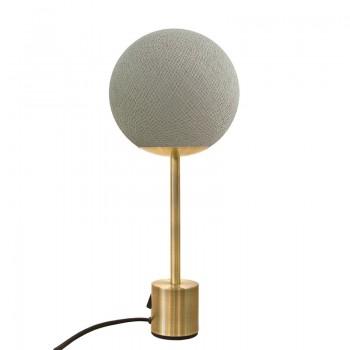 Lampe APAPA laiton - Grège - Lampe Apapa - La Case de Cousin Paul