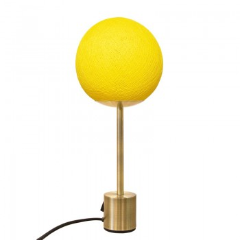 Lampe APAPA laiton - Mimosa - Lampe Apapa - La Case de Cousin Paul