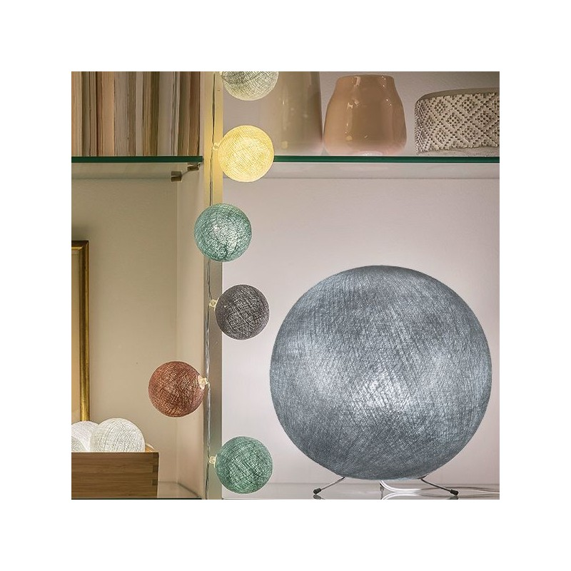 Globe Light XXL Tilleul Ø 67cm - LIGHT Collection - La Case de Cousin Paul