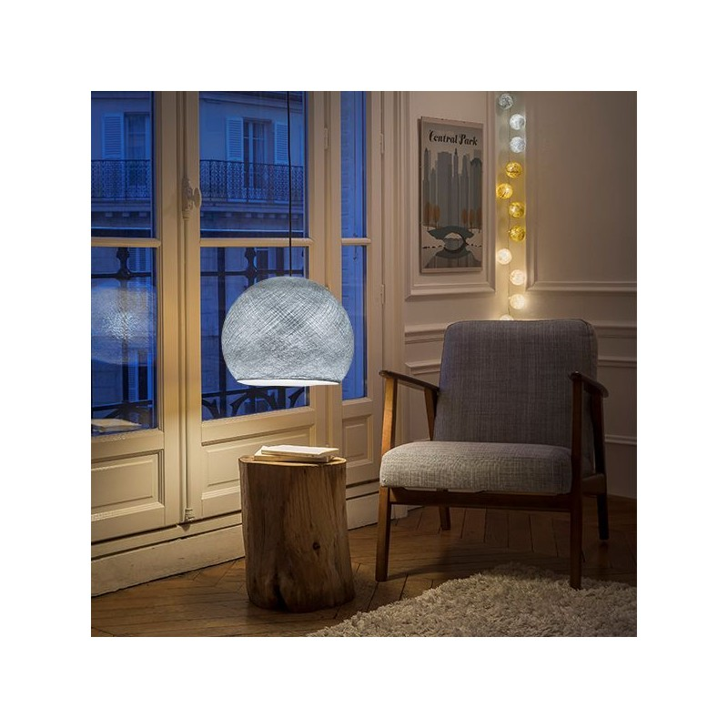 Globe Light Tabac Ø 36cm - Collection light - La Case de Cousin Paul