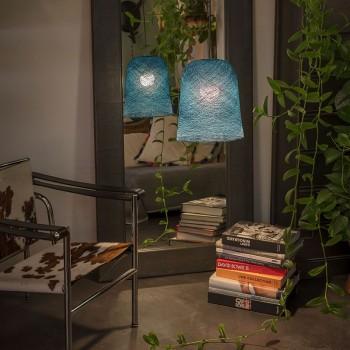 Jupe eendenblauw - Lampenkappen jupe - La Case de Cousin Paul