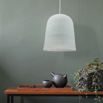 Lamp Jupe azuurblauw met het licht uit